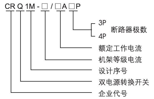 电压380v,额定工作电流63-225a双电源供电系统