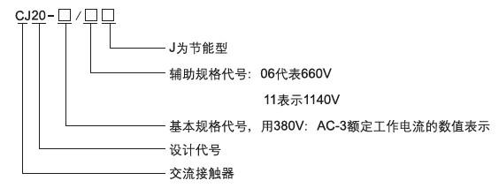 cj20交流接触器-上海人民电气有限公司